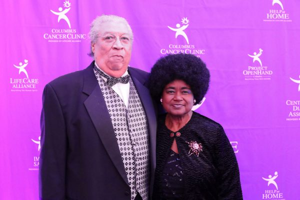 Clyde Wright and Delores Wright. Big Wheels 2018. Photo by Anthony Clemente, LifeCare Alliance.