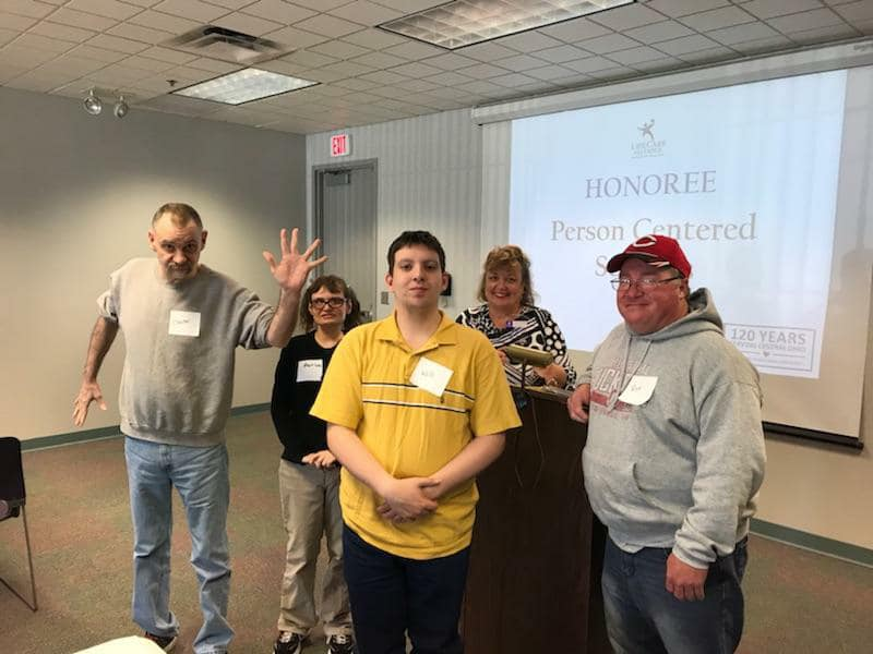 Volunteers recognized for awards