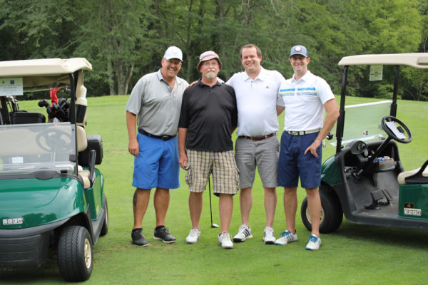 Swing for Diabetes group - Gallagher