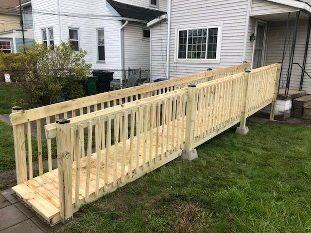 Ramp Installed at Home