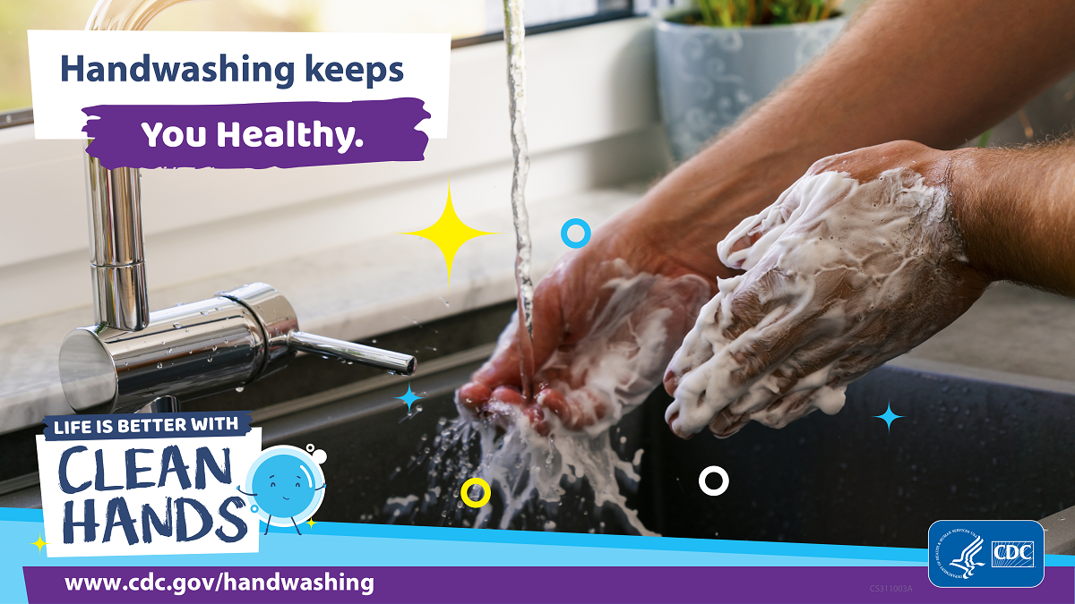 Frequent Handwashing Helps Prevent Spread of Germs in Kitchen